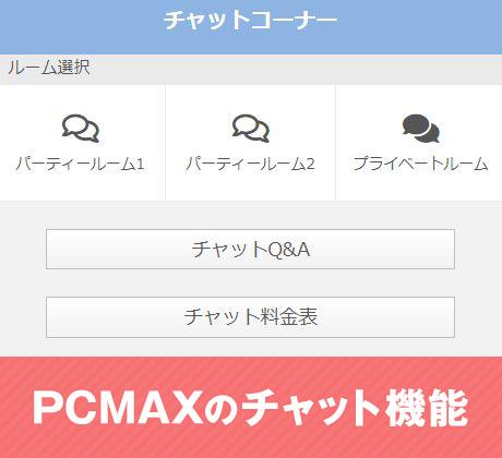 PCMAXのチャット機能の使い方!今すぐ楽しみたいならライブチャットを使おう